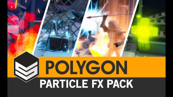Polygon Particle FX Pack (Unity) – 3D Low Poly Art for Games by #SyntyStudios