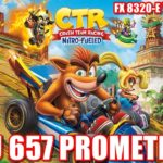 YUZU 657 PROMETHEUS – CRASH TEAM RACING  FX 8320-E  GTX 1050TI