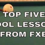 TOP FIVE POOL VIDEOS FROM FX BILLIARDS ~ Based on rating & views over the last 30 days POOL LESSONS
