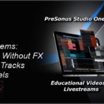 PreSonus Studio One 5 Live: Export Stems:With  Without FX & Selected Tracks & Channels