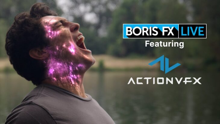 How to create feature film quality VFX with Boris FX and Action VFX stock elements: Boris FX Live 18