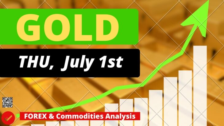 Gold Analysis for Thursday July 1, 2021 by Nina Fx