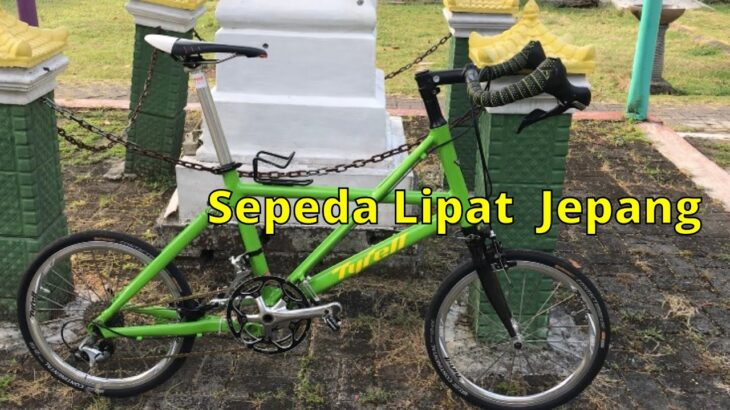 Review Tyrell FX – Sepeda Lipat Jepang